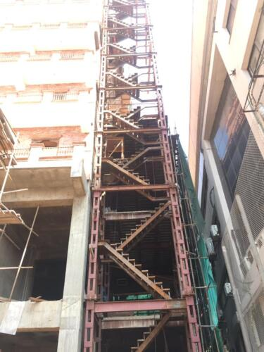 Emergency staircase Project