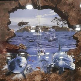 Bijeshwori Bathroom wall tiles aquatic poster