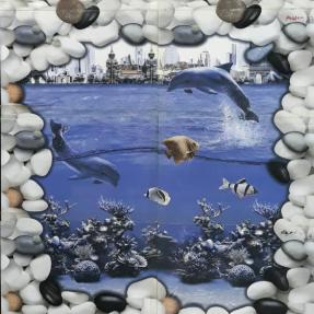 Bijeshwori Bathroom wall tiles fish designs (1)