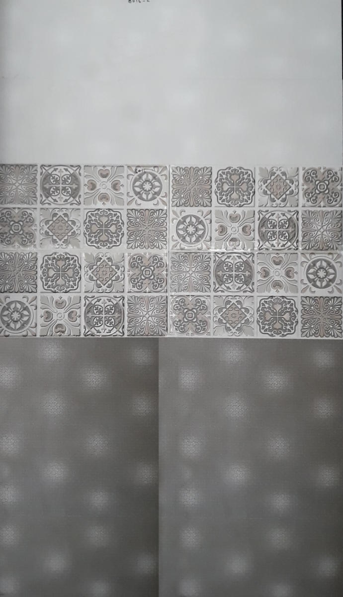 Bijeshwori Bathroom wall tiles grey and white